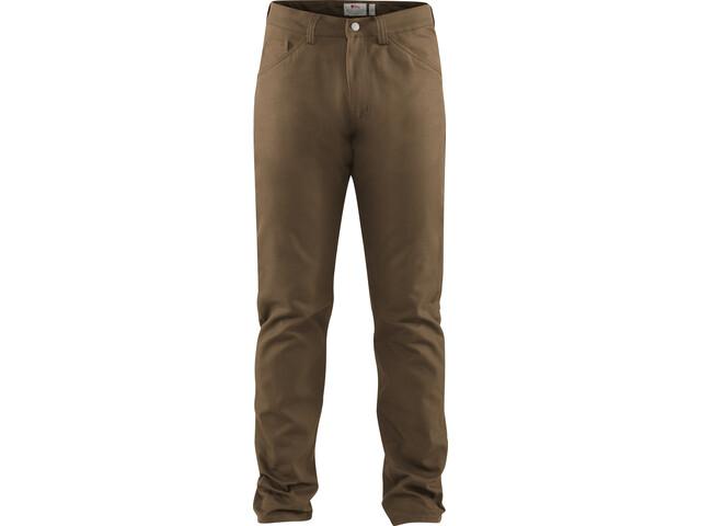 Fjällräven Greenland Jeans di tela Uomo, marrone